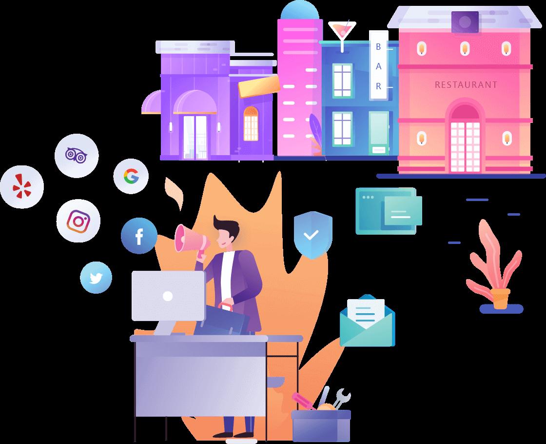 Social Media for Restaurants with Webdiner