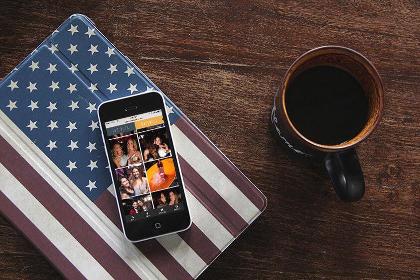 American Social Restaurant Web Design